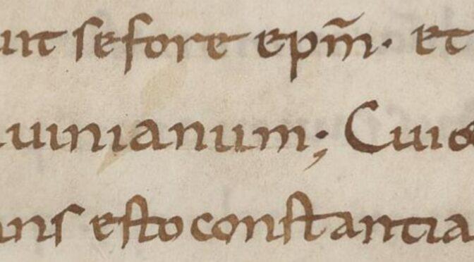 Le songe de Constance. Autour de la translation des reliques de saint Savinien de Sens, 25 août 1028
